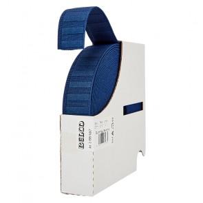 Gummigürtelband BELCO, blau  30mm