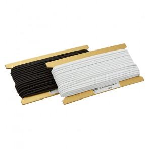 Schnürlg. 3,5mm   weiß, schwarz