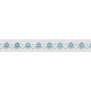 Prym Blumenbt 15mm/25m blau/ws #