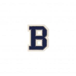 Prym Applikation Buchstabe B blau/ecru