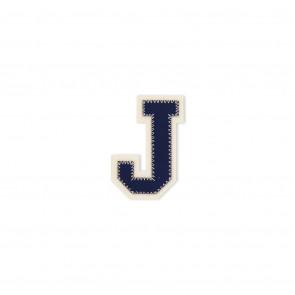 Prym Applikation Buchstabe J blau/ecru