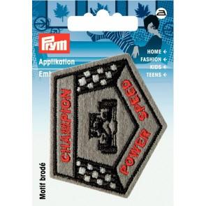 Prym Appl Label Champion  #