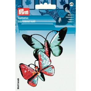 Prym Appl. Exklusiv Schmetterlinge bunt #