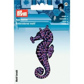 Prym Appl. Exklusiv Seepferdchen violett #