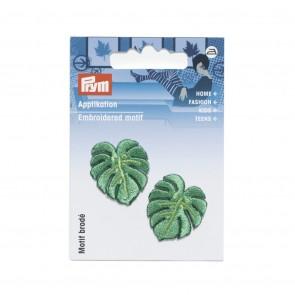 Prym Appl. Blätter Ficus grün klein