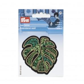 Prym Appl. Blatt Ficus grün groß