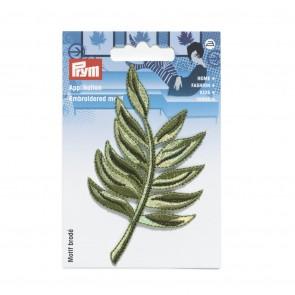 Prym Appl. Blatt Palme grün