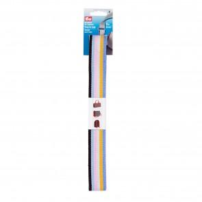 Prym Gurtband für Taschen 30 mm blau/bunt