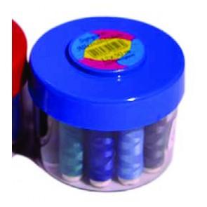 Nähfadenbox mit 12 Spulen Baumwoll-Nfd.
