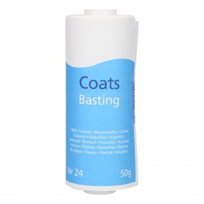 COATS Basting, Heftgarn, Bw. 50g #