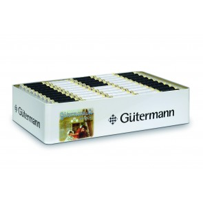 Nostalgiebox GÜTERMANN 100m black&white (180 Spulen)