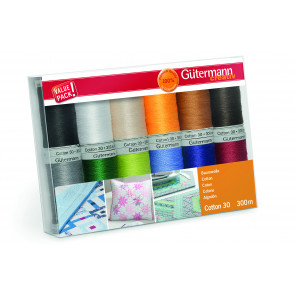 GÜTERMANN Nähfaden-Set Cotton 30/12