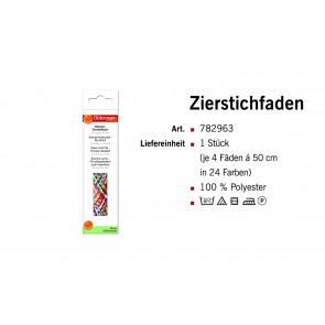 GÜTERMANN Zierstichfd.24x4-SB, Clip