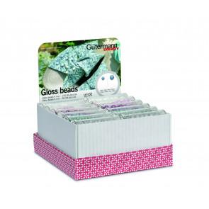 GÜTERM. Storage and Display Box Gloss beads
