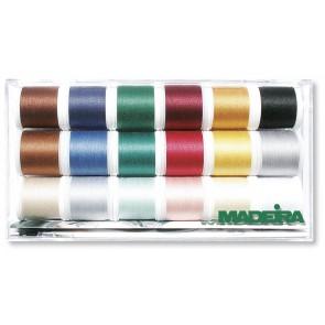 MADEIRA Sort. Cotona Box 30 18 Farben