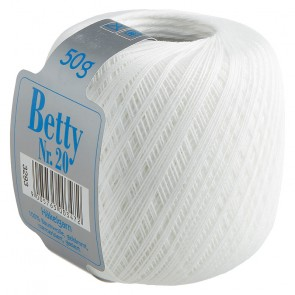 BETTY Häkelgarn Nr. 20    10x50g