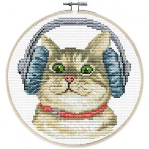 LADYBIRD Stickset DJ Kitty rund 15,2 cm