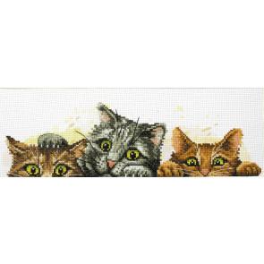 LADYBIRD Stickset Curious Kittens 31x9 cm