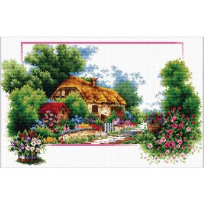 LADYBIRD Stickset English Cottage Lane 42x25 cm