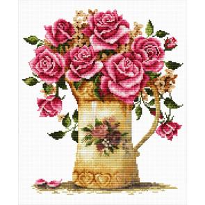 LADYBIRD Stickset Antique Flower Vase 26x29 cm