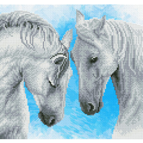 LADYBIRD Stickset Horse prayer 27,6x26 cm