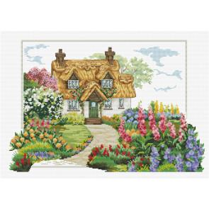 LADYBIRD Stickset Foxglove Cottage 45x32 cm