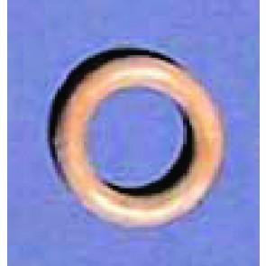 Makramee-Ringe; KstSt. i/25mm *