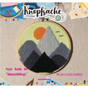 Punch Needle Kit Rahmen Berge