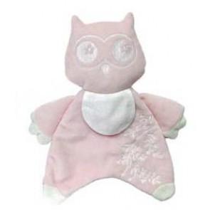DMC Soft-Stofftier m.Stf. Eule rosa*