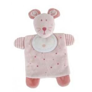 DMC Soft-Stofftier m.Stf. Maus rosa*