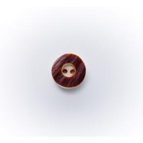 11mm Hirschhornknopf echt, Ia