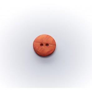 11mm Knopf Perlmutterimitat gefärbt