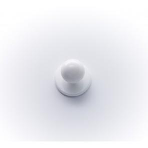18mm Kochknopf weiß, färbig