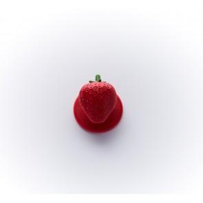 18mm Kochknopf Erdbeere