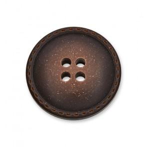 15mm Galalithknopf bombiert, 4-loch
