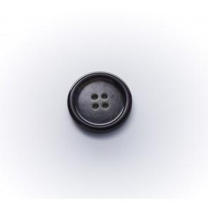 15mm Büffelimitatknopf,glzd.4-loch *