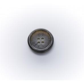 15mm Büffelimitatknopf,matt 4-loch