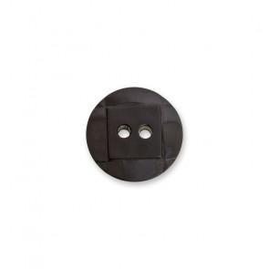 10mm Knopf Nylon 2-loch, gef.