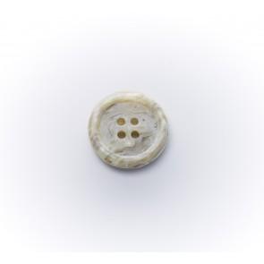 15mm Galalithknopf meliert, 4-loch