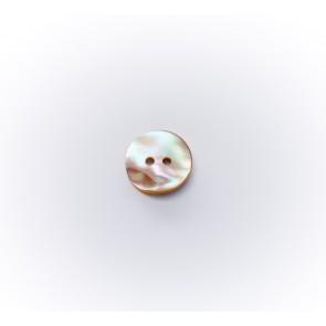 11mm Perlmutter-knopf Goldfish 2-loch