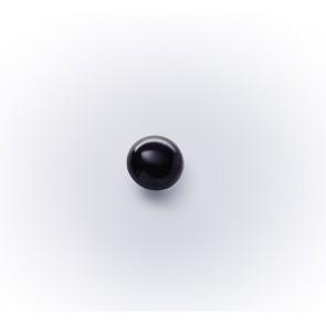 9mm Halbkugerlknopf Nylon, schwarz