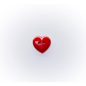 10mm Herzerlknopf Nylon,2-loch gef*