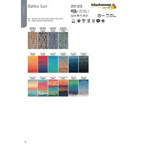 SCHACHENMAYR Batiko Sun  10x100g
