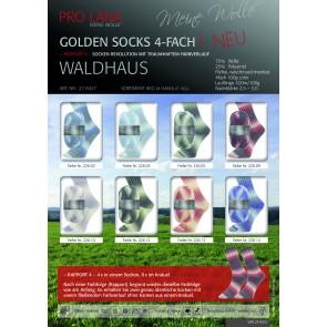 PRO LANA Golden S Waldhaus 4f. 10x100g*