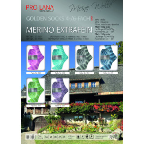 PRO LANA Golden S. Merino Extrafein 4f. 100g