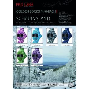 PRO LANA Golden S. Schauinsland 4f. 10x100g