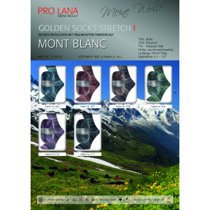 PRO LANA Golden S. Mont Blanc Stretch  4f. 100g