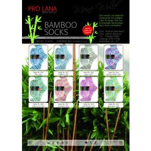 PRO LANA Bamboo Socks Sortiment 10x100g (8kg)