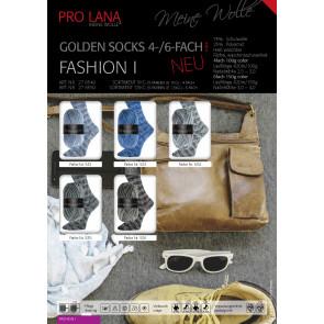 PRO LANA Golden Socks Fashion I 4f. 100g. 5kg