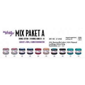 WOOLLY HUG Bobbel Mix Paket A 200g